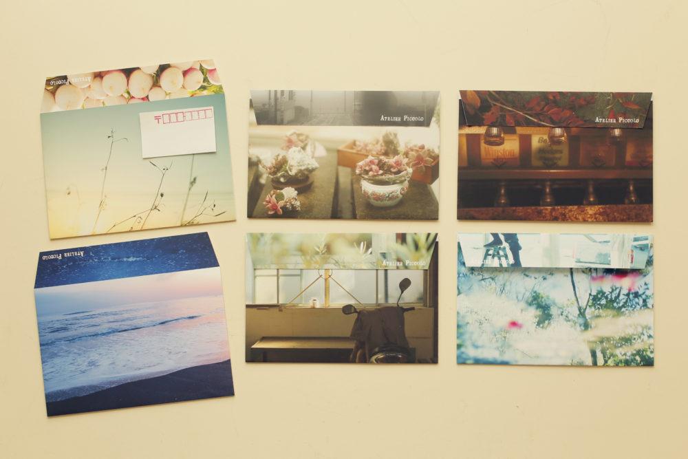 写真封筒と、ご祝儀袋をつくるワークショップ