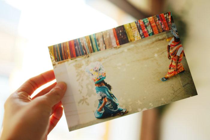 AtelierPiccoloにて「竹沢うるま 旅の手紙」を制作、販売